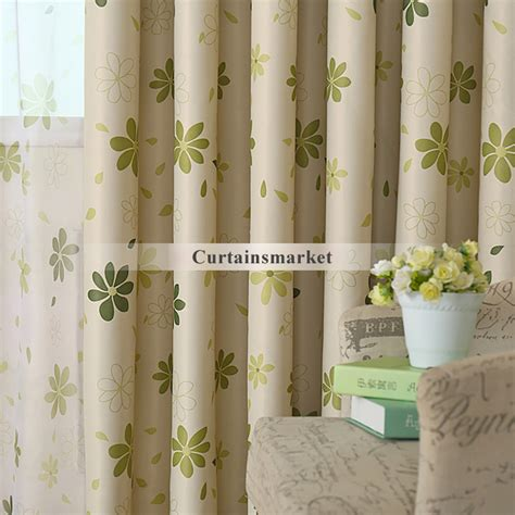 green bedroom curtains floral patterns green bedroom curtains of polyester