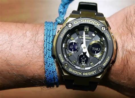 Jual G Shok Casio Rantai Stinlees Steel Jam Tangan Pria Dual Time casio g shock g steel gst s100g 1a indowatch co id
