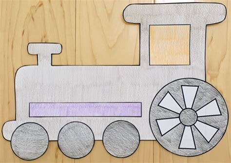 How To Make Paper Trains - paper craft