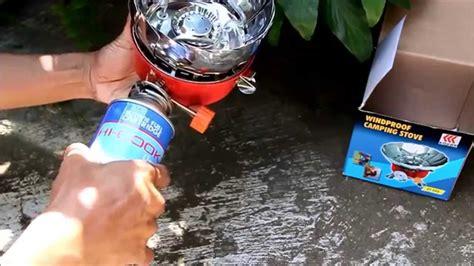 Kompor Windproof 1 kovar windproof cing stove kompor gas portabel tahan