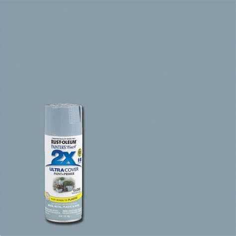 spray painting in winter rust oleum painter s touch 2x 12 oz gloss winter gray