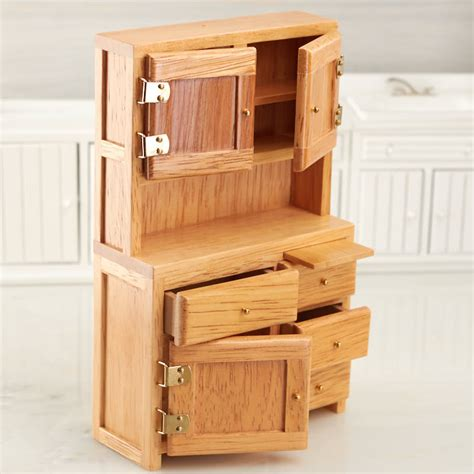 dollhouse kitchen cabinets dollhouse miniature oak hoosier cabinet kitchen