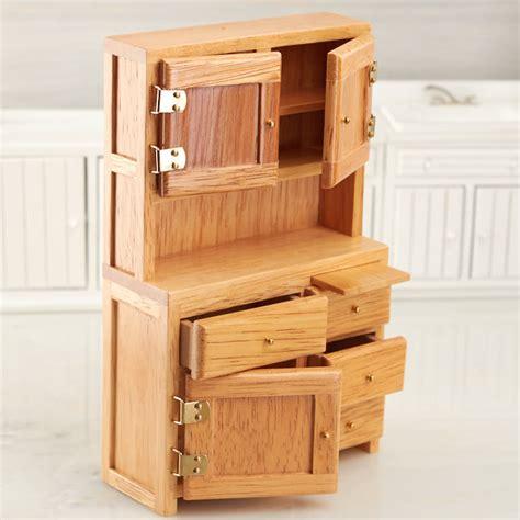 dollhouse kitchen cabinets dollhouse miniature oak hoosier cabinet kitchen