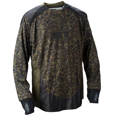 Jersey Free Gun Gear Bt 2011 Combat Paintball Jersey Woodland Digital Xlarge