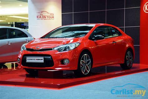 kia cerato turbo 2015 kia cerato koup turbo previewed 1 utama est from
