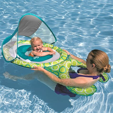 swimways baby spring float sun canopy mommy me