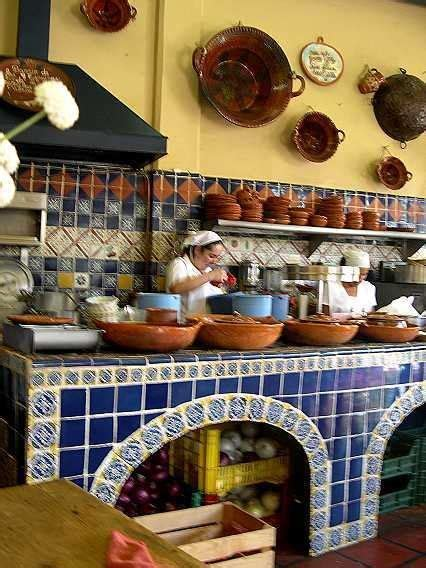 mexican kitchens are the most beautiful in the world the arch front storage in colonial mexican kitchens