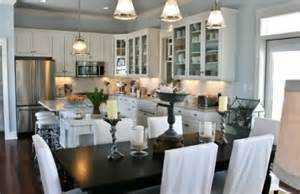 Open Dining Room Open Concept Kitchens And Dining Rooms Best Home Decorating Ideas