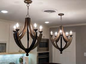 rustic kitchen chandeliers 1968 fixer in an neighborhood gets a fresh