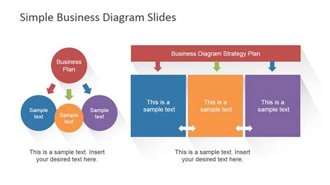 Simple Business Model Template ideas and presentation layouts slidemodel