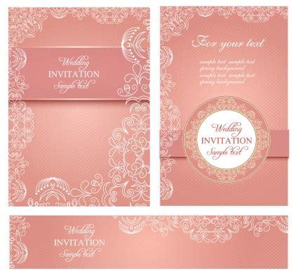 Wedding Card Invitation Template In Coreldraw by Wedding Invitation Card Template Vector Coreldraw Free
