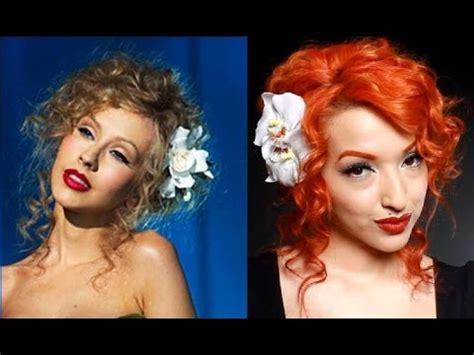 Style Aguilera Fabsugar Want Need by Aguilera Hair Tutorial Burlesque