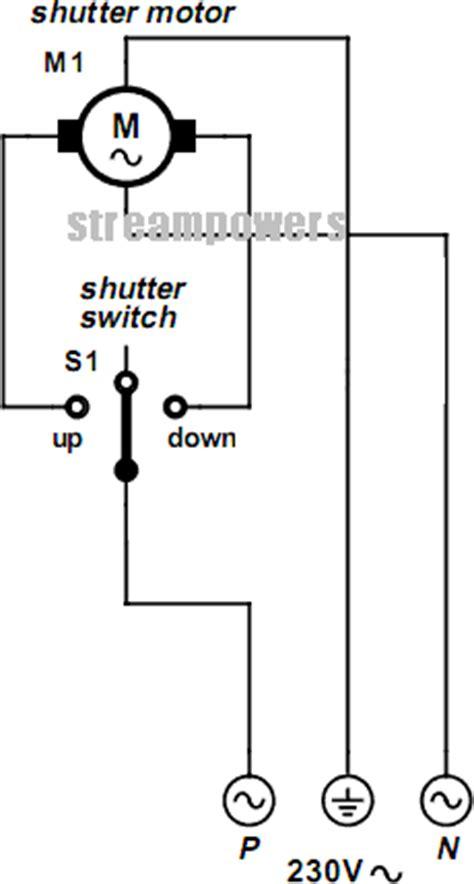 rolling shutter motor electronic circuits diagram