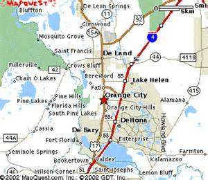 map of florida springs directions to blue state park