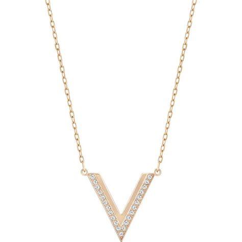 Collier et pendentif Swarovski 5140120   Collier et pendentif Or Rose Delta Femme sur Bijourama