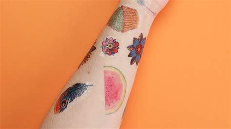 diy temporary tattoos youtube