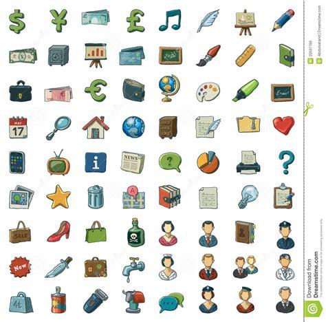 free clipart downloads illustrated clip set stock illustration illustration