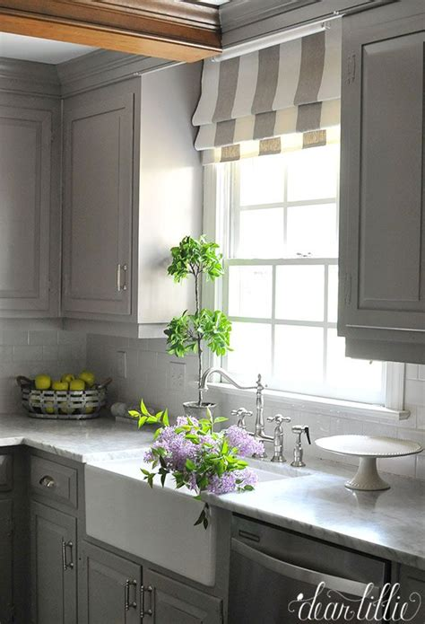 Kitchen Curtains Blinds 25 Best Ideas About Kitchen Window Blinds On Fabric Blinds Diy Blinds And Bathroom