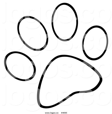 Paw Coloring Page paw coloring pages