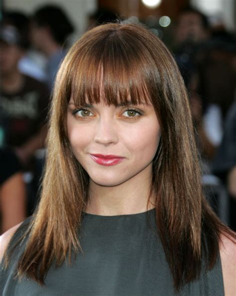 hairstyles with bangs on round faces straight hairstyles with bangs for round face sheplanet