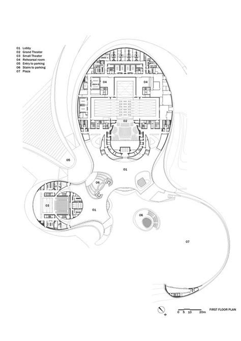 opera house floor plan gallery of harbin opera house mad architects 29 pinterest opera opera house and floor plans