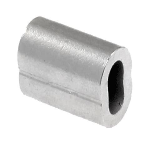 nickel plated copper swage sleeve ferrule for 4mm wire cl nickel plated copper