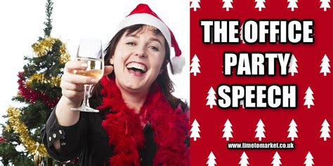 speech office party how to give the office speech 10 tips for speaking