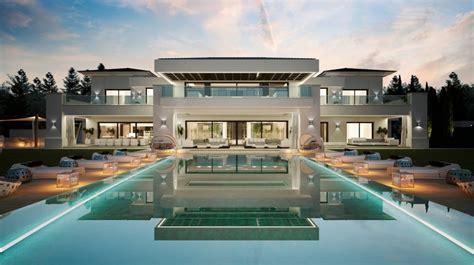 indoor outdoor house luxurious 9 bedroom home with indoor outdoor pools