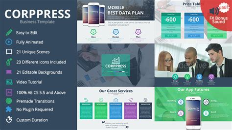 Business Powerpoint Template Nulled Nulled Videohive Food Icons Nulled