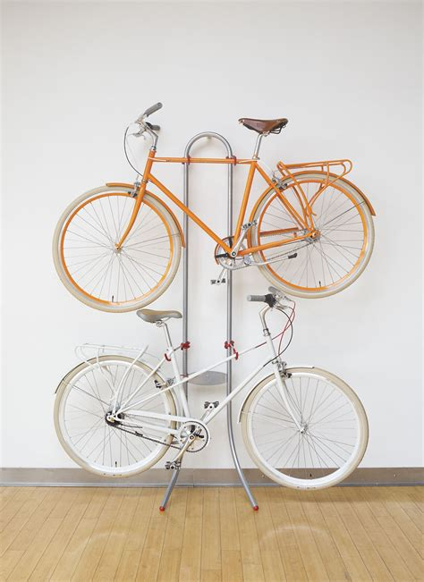 indoor bicycle storage take your bike off the floor with these ingenious racks