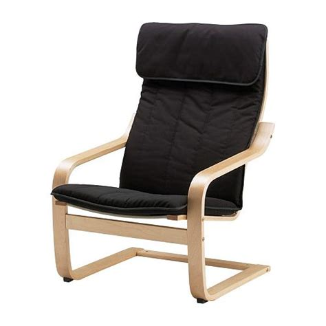 po 196 ng chair alme black birch veneer ikea