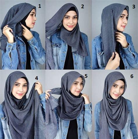 tutorial kerudung pashmina zaskia sungkar wear hijab simple style hijab style 6