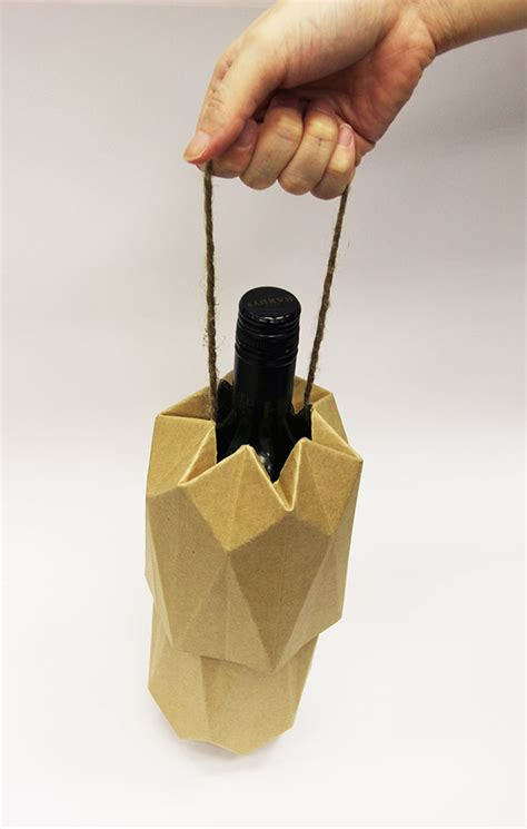 Origami Wine Bottle - origami wine bottle 28 images bottle charms promotion