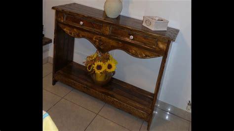 riciclo pedane mobiletto in legno fai da te con riciclo vecchi bancali