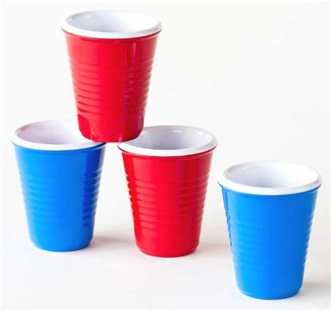 Loyang Mini Cup Teflon novelty melamine mini plastic cups glasses 2 2 blue desertcart