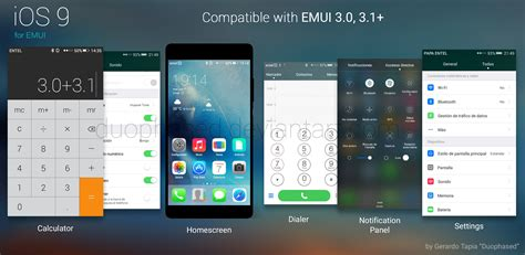 themes for emui 3 ios theme for emui by duophased on deviantart