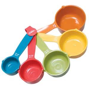 Kitchen Measurements Cup Maxiaids Cooking Measuring Cups Set Of 5