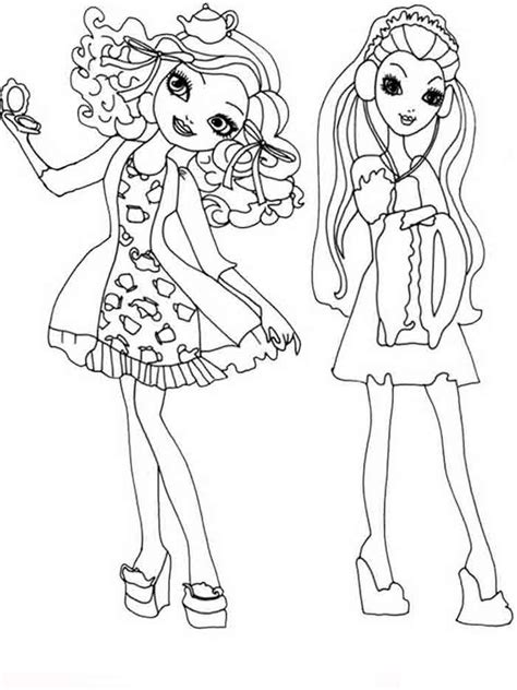 ever after high school coloring pages ever after high coloring pages download and print ever