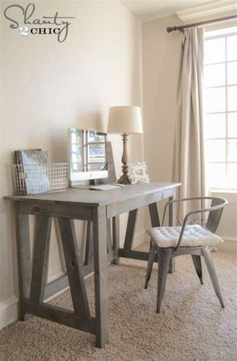 diy wood desk free woodworking plans diy desk
