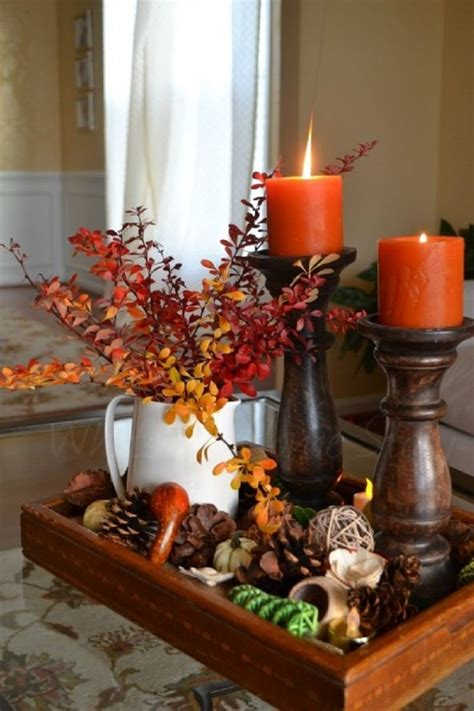 fall centerpieces source pinterest