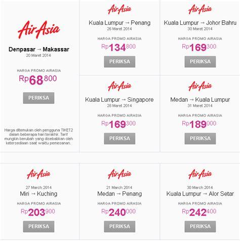 Promo Tiket Pesawat Air Asia image gallery harga tiket airasia
