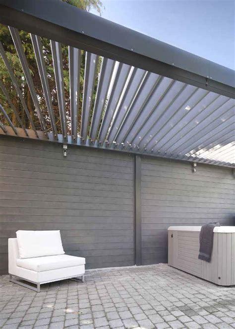 überdachung Terrasse Preise by Lamellend 228 Cher Als Verstellbare Pergola