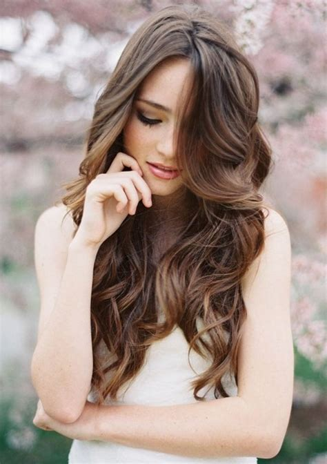 bridal hairstyles loose curls most beautiful bridal wedding hairstyles for long hair