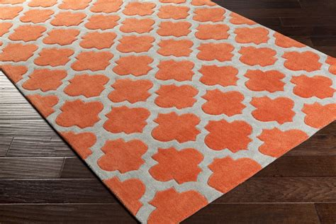Poppy Area Rug by Surya Cosmopolitan Cos 9239 Poppy Grey Area Rug