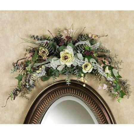 door floral swags