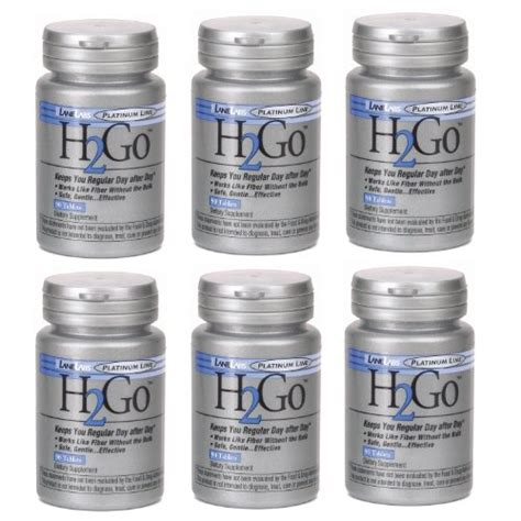 H2go Small H2go Mini H2go bargain labs h2go 90 tablets pack of 6 bottles