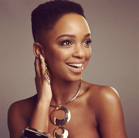 nandi mngomas haircuts african queen nandi mngoma strips to mark new beginning