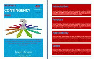 it contingency plan template topic 4 school drrm and