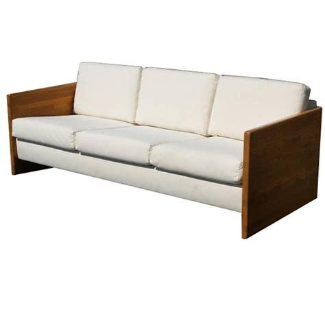 block sofa vintage jerryll habegger butcher block sofa couch at 1stdibs