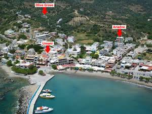 olive grove apartments rooms plakias limani plakias